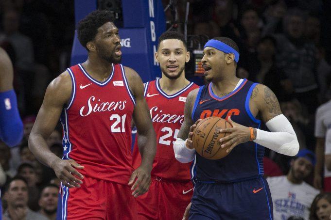 Carmelo Anthony catches fire prior to MSG return vs. New York Knicks