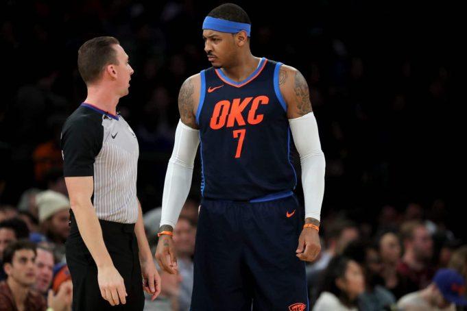 New York Knicks 111, OKC Thunder 96: Michael Beasley spoils Melo's return (Highlights)