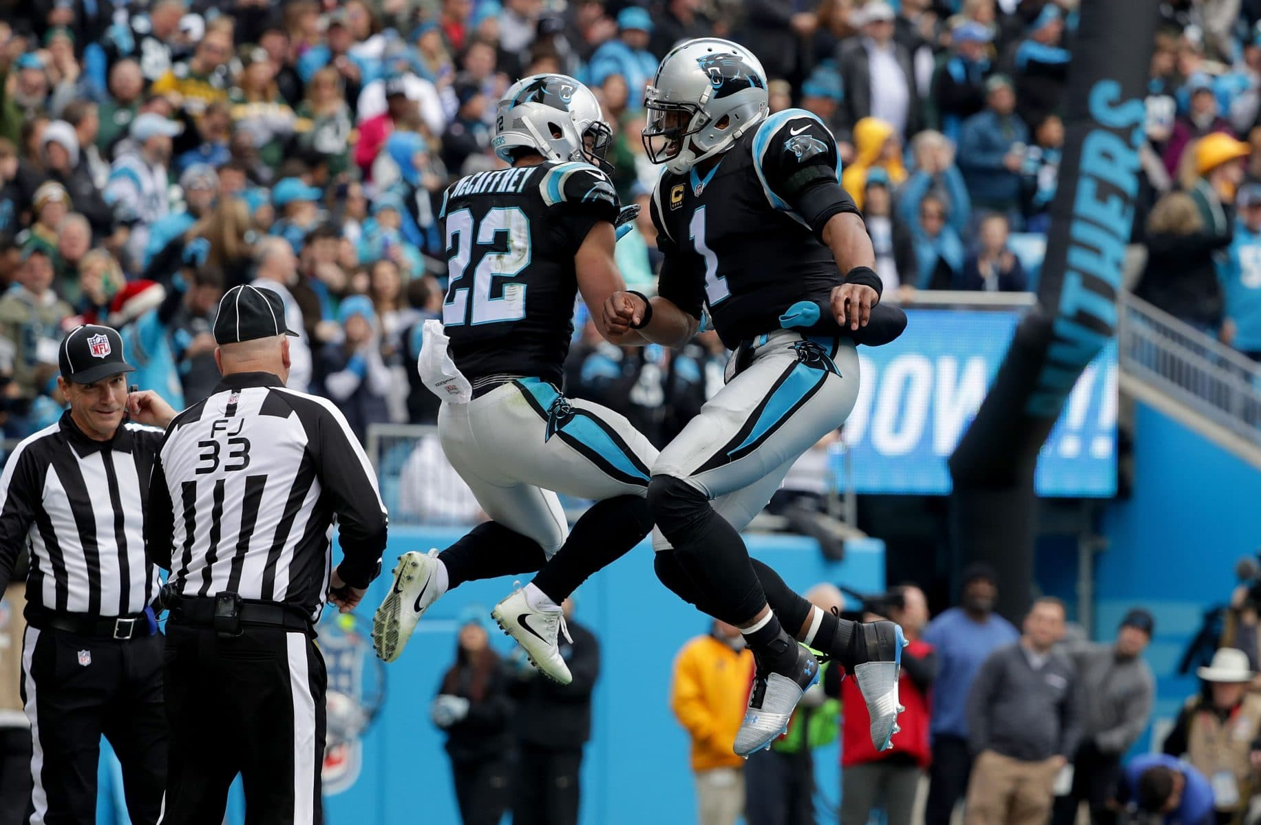 Cam Newton to Clay Matthews: You've been watching film, huh? (Video)