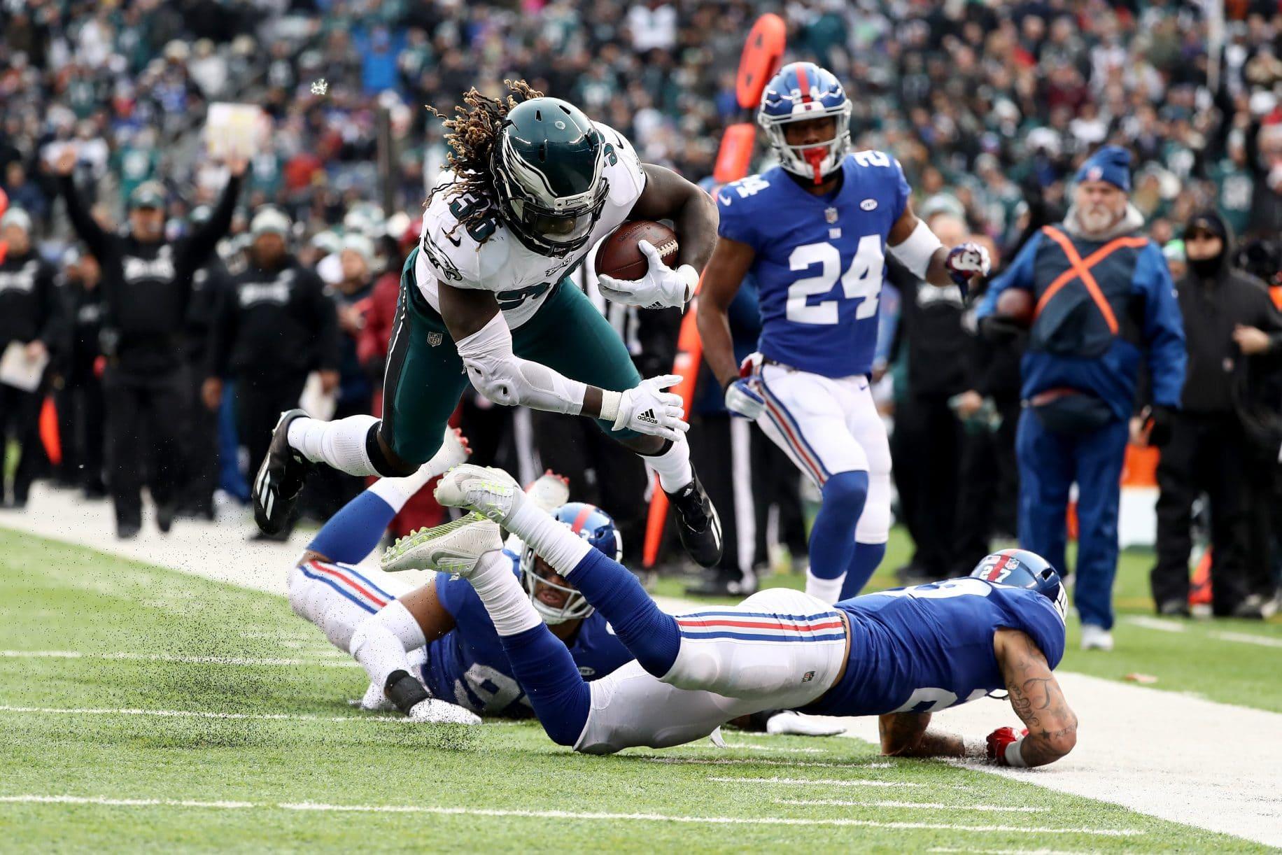 Jay Ajayi Philadelphia Eagles New York Giants