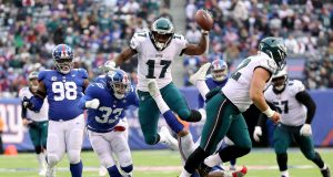 New York Giants 29, Philadelphia Eagles 34: Big Blue offense not enough