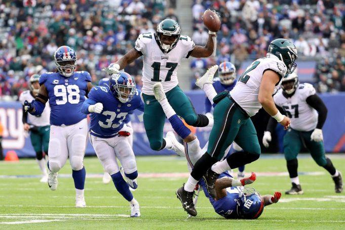 New York Giants 29, Philadelphia Eagles 34: Big Blue offense not enough