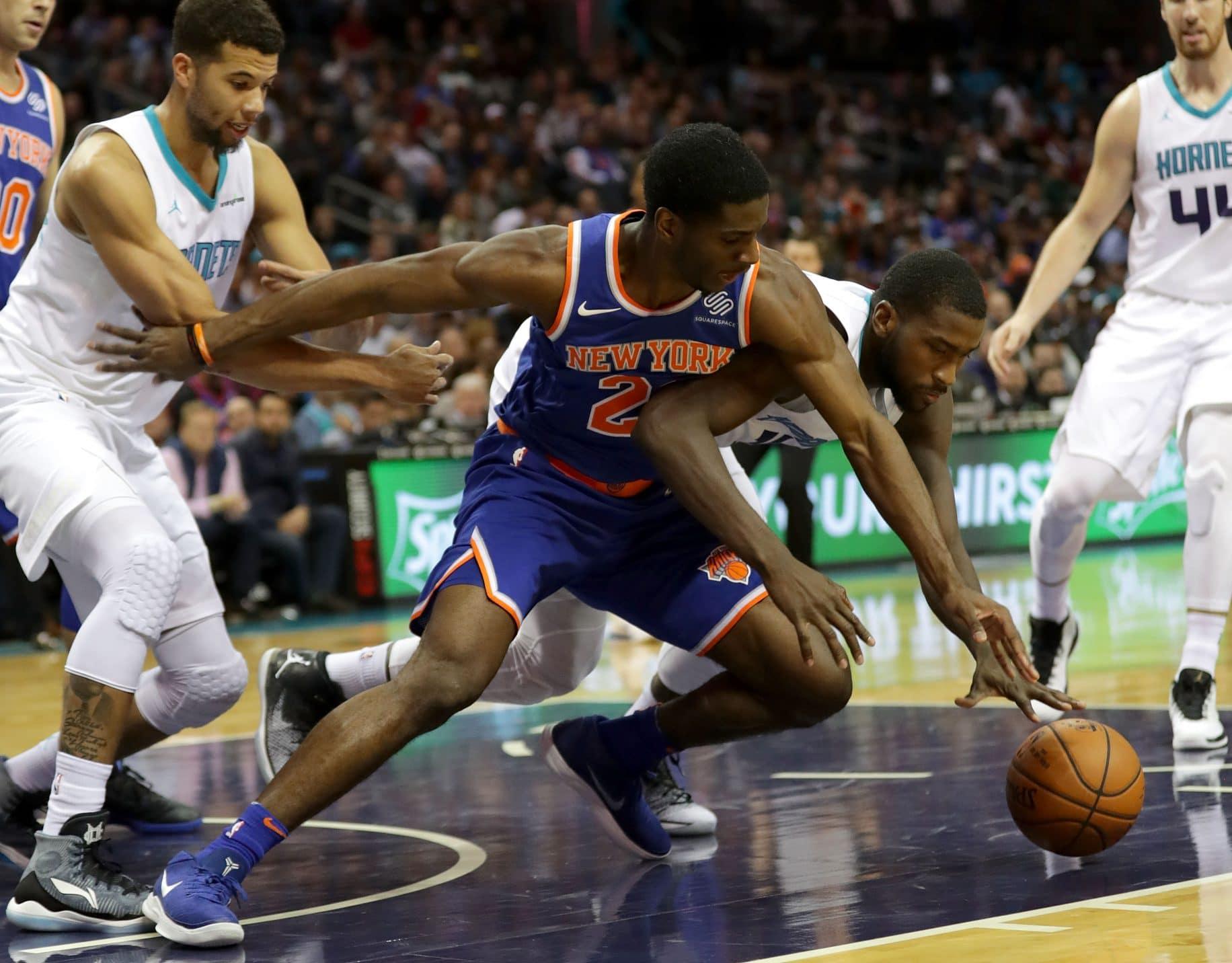 Damyean Dotson New York Knicks