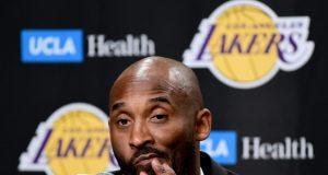 Kobe Bryant's retirement night interrupted by Julius Randle (Video)