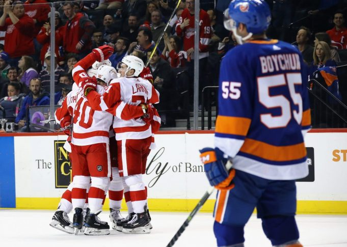 New York Islanders 3, Detroit Red Wings 6: Another third-period collapse