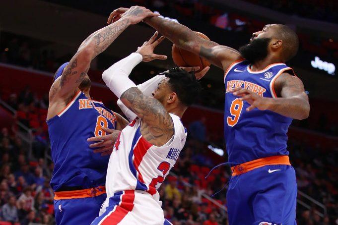 New York Knicks, Detroit Pistons, Postgame