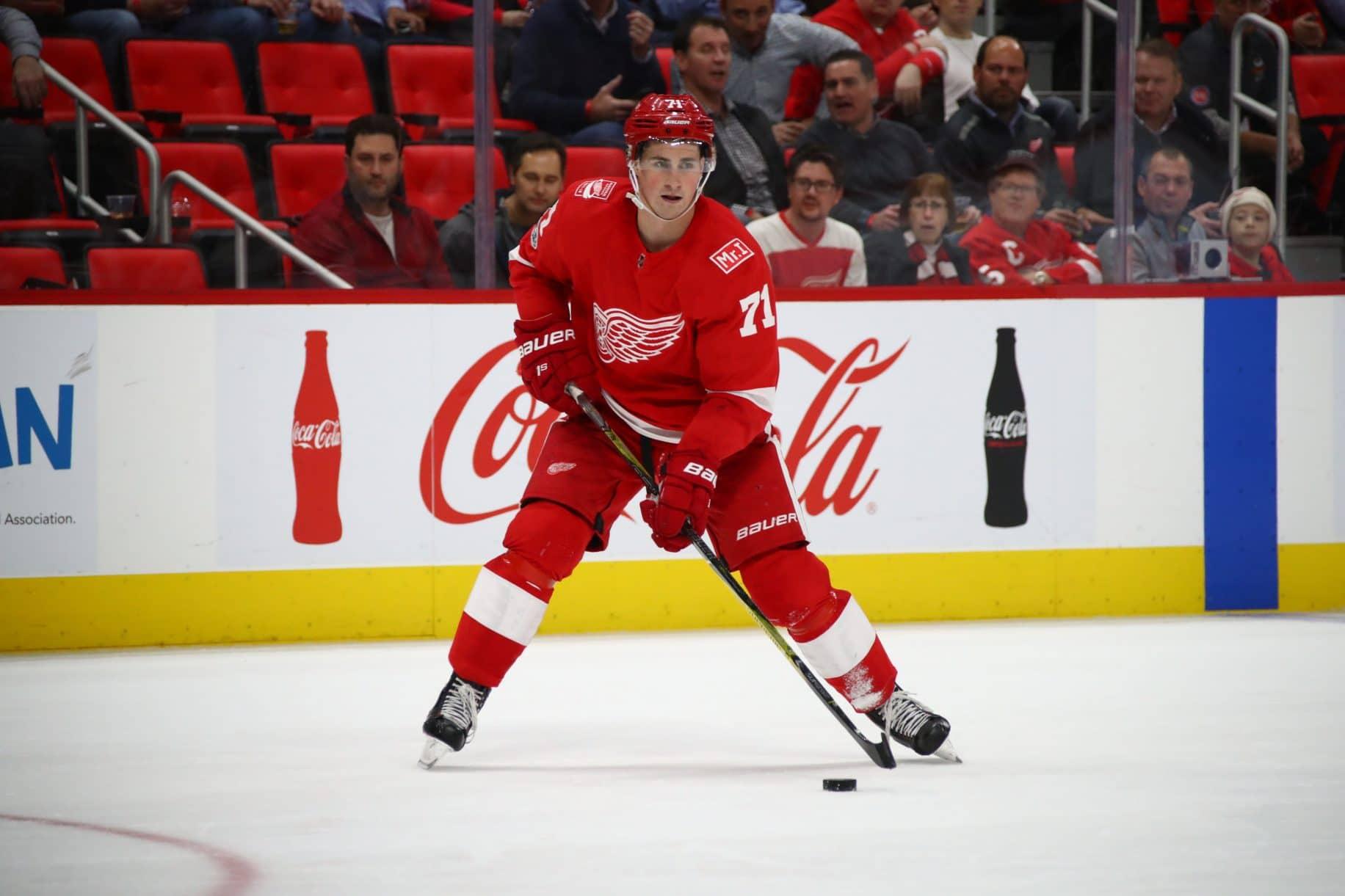 Dylan Larkin, NHL, Detroit Red Wings