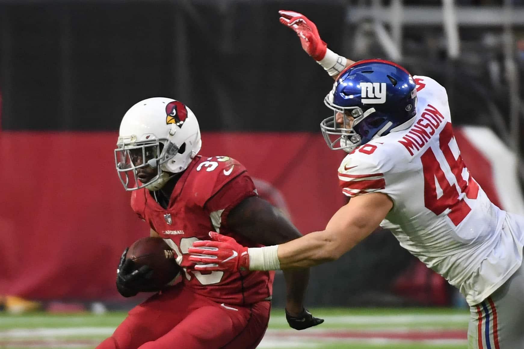 Calvin Munson New York Giants