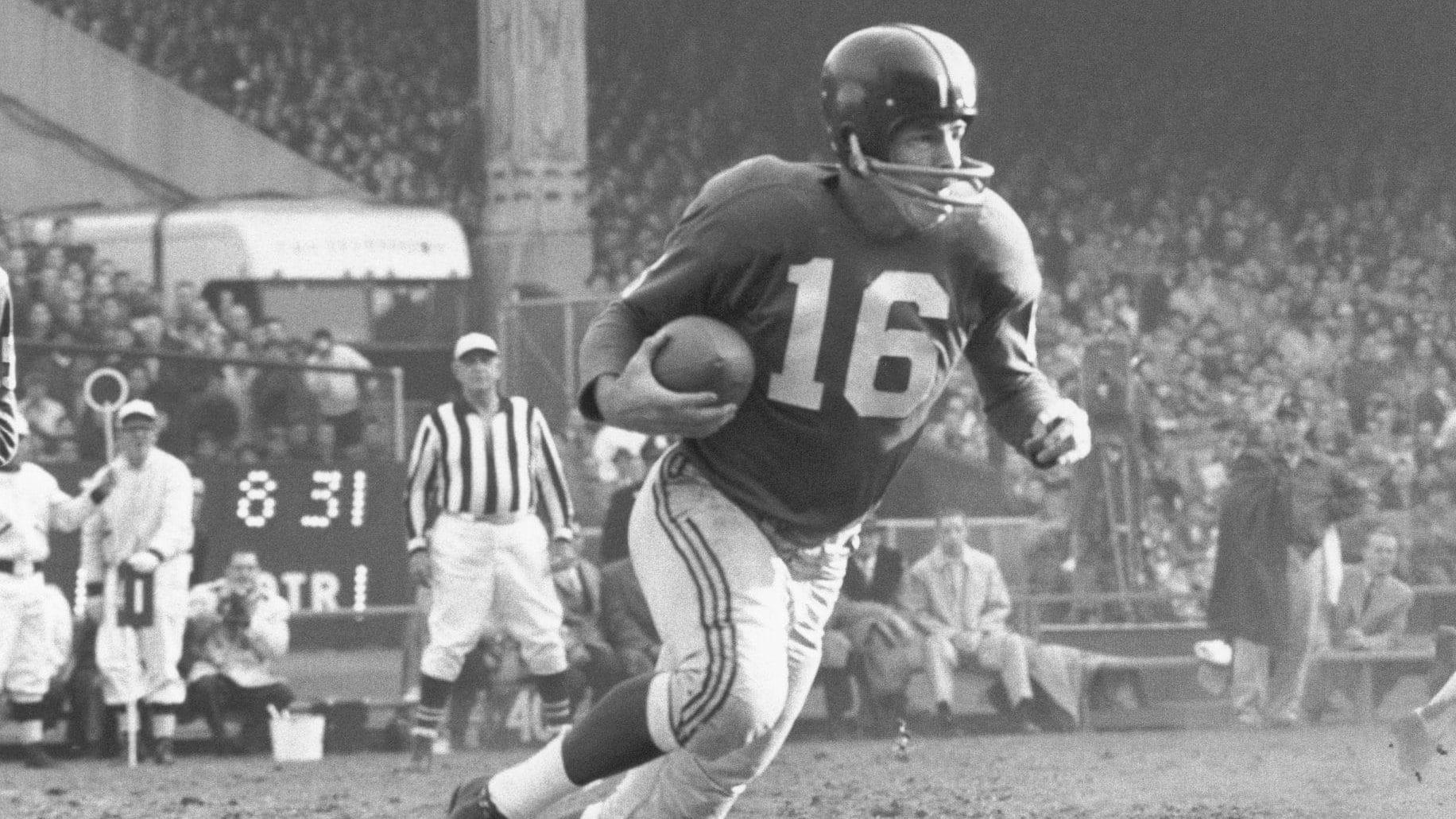 Frank Gifford New York Giants
