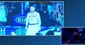Carmelo Anthony gets mixed reaction in MSG return (Video)