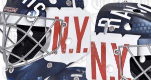 Ondrej Pavelec New York Rangers Winter Classic