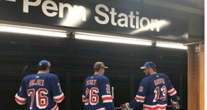 New York Rangers travel to work like their fans—on the NYC subway