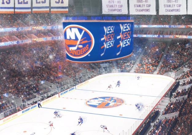 New York Islanders, Belmont, NHL