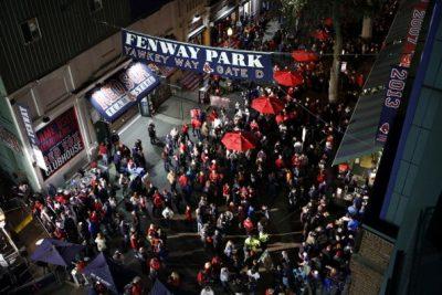 Yawkey Way, Fenway Park