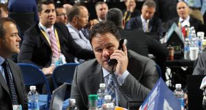 Jeff Gorton New York Rangers GM at 2017 NHL Draft