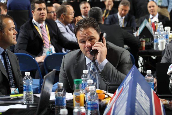 Jeff Gorton New York Rangers GM at 2017 NHL Draft