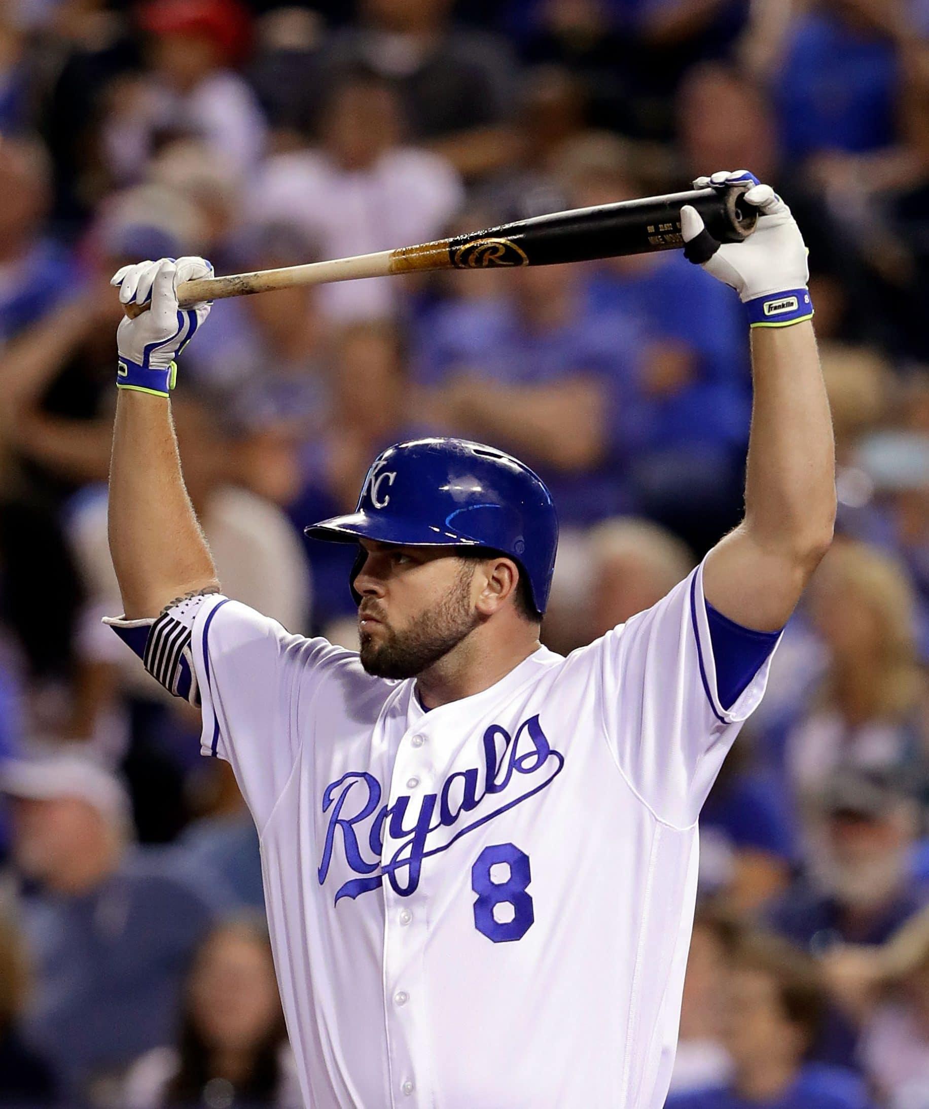 Mike Moustakas Kansas City Royals New York Mets
