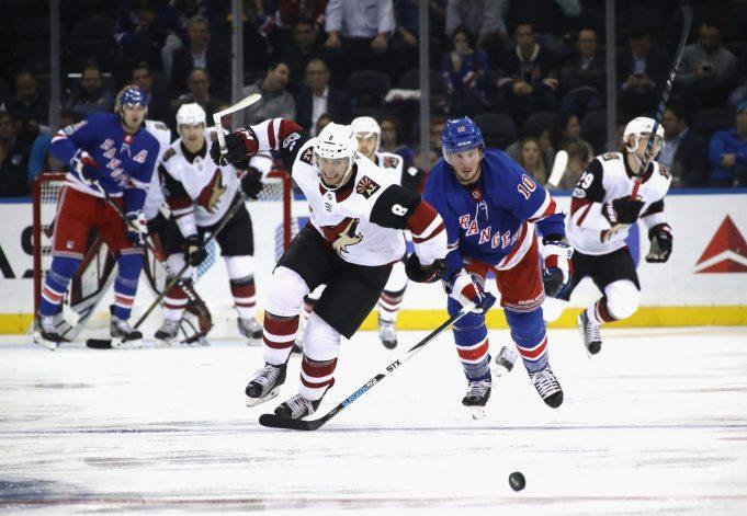 New York Rangers visit Arizona
