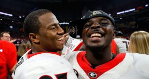 Nick Chubb, Sony Michel, College Football