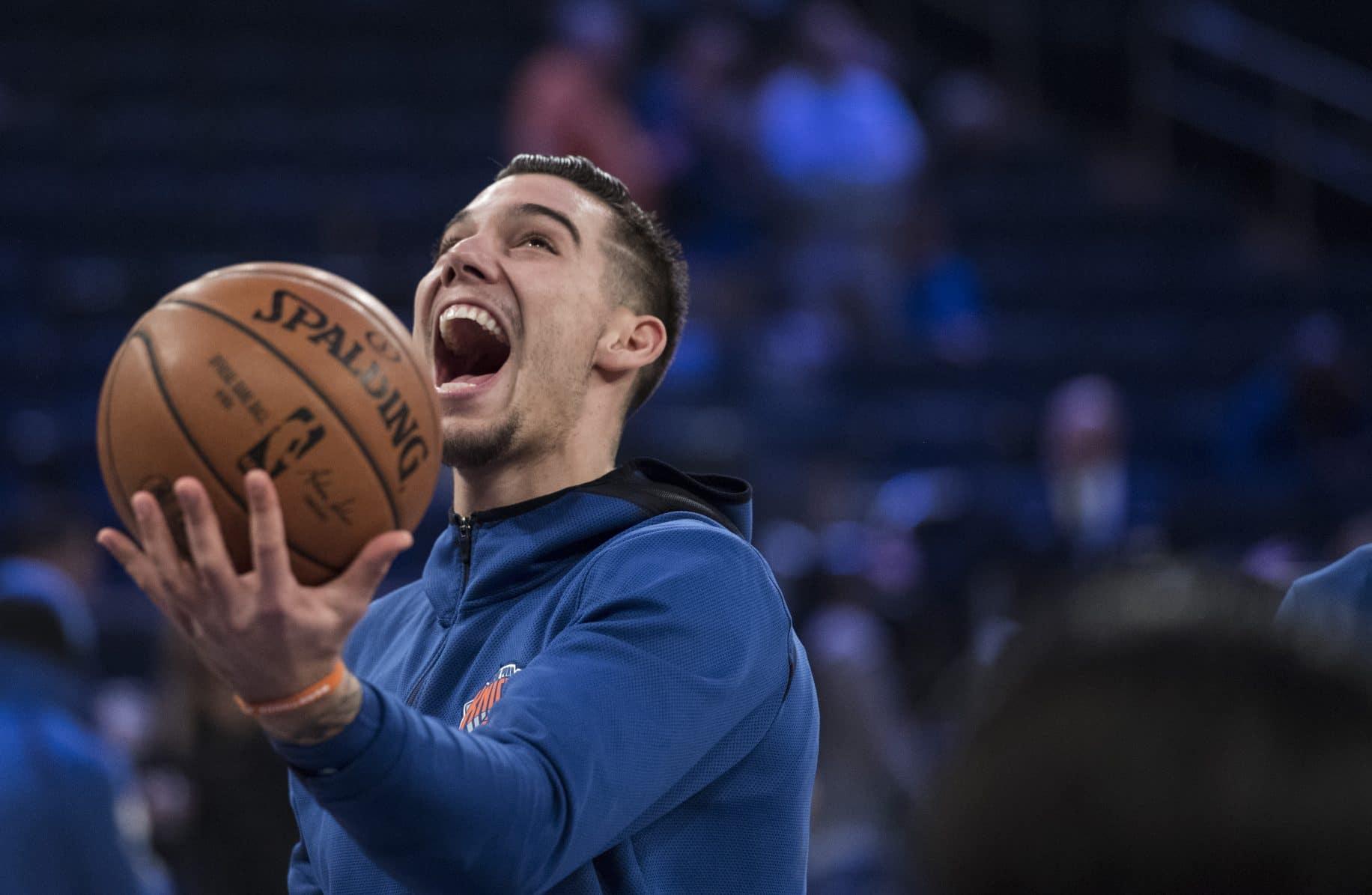 Willy Hernangomez New York Knicks