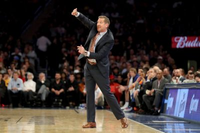Jeff Hornacek, New York Knicks