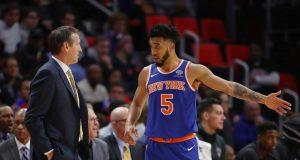 Jeff Hornacek, Courtney Lee, New York Knicks