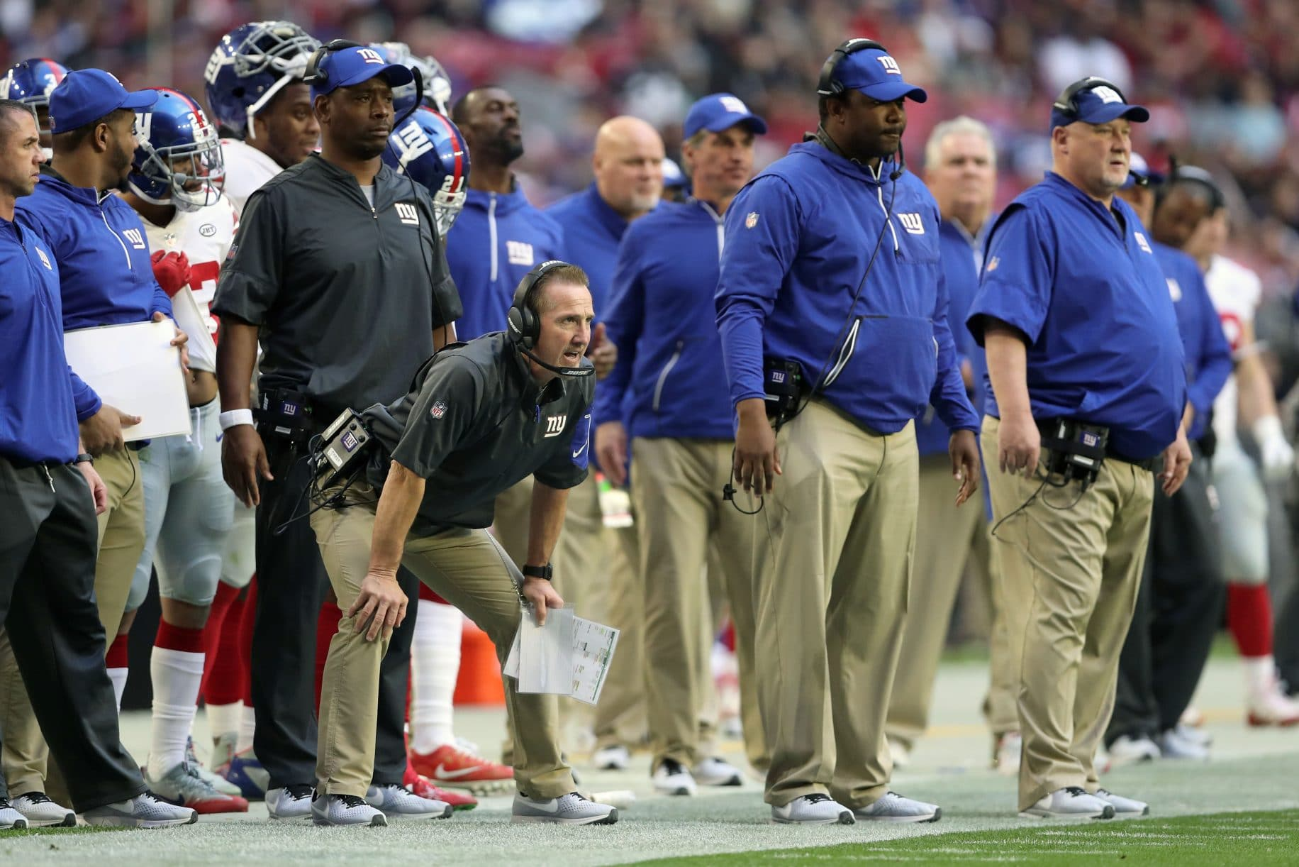 New York Giants Steve Spagnuolo