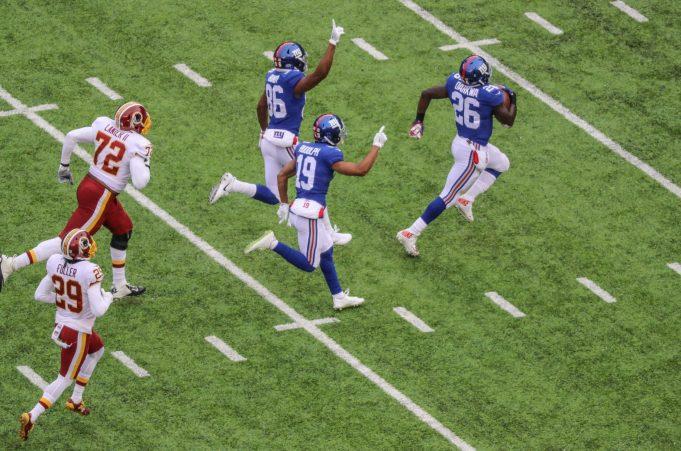 New York Giants, Orleans Darkwa, NFL