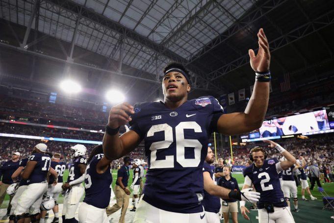 Saquon Barkley, Penn State, College Football