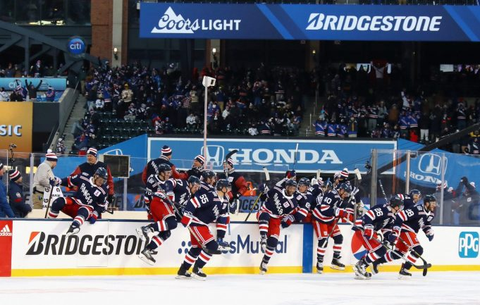 New York Rangers, Winter Classic