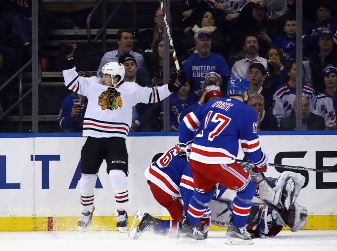 Chicago Blackhawks New York Rangers