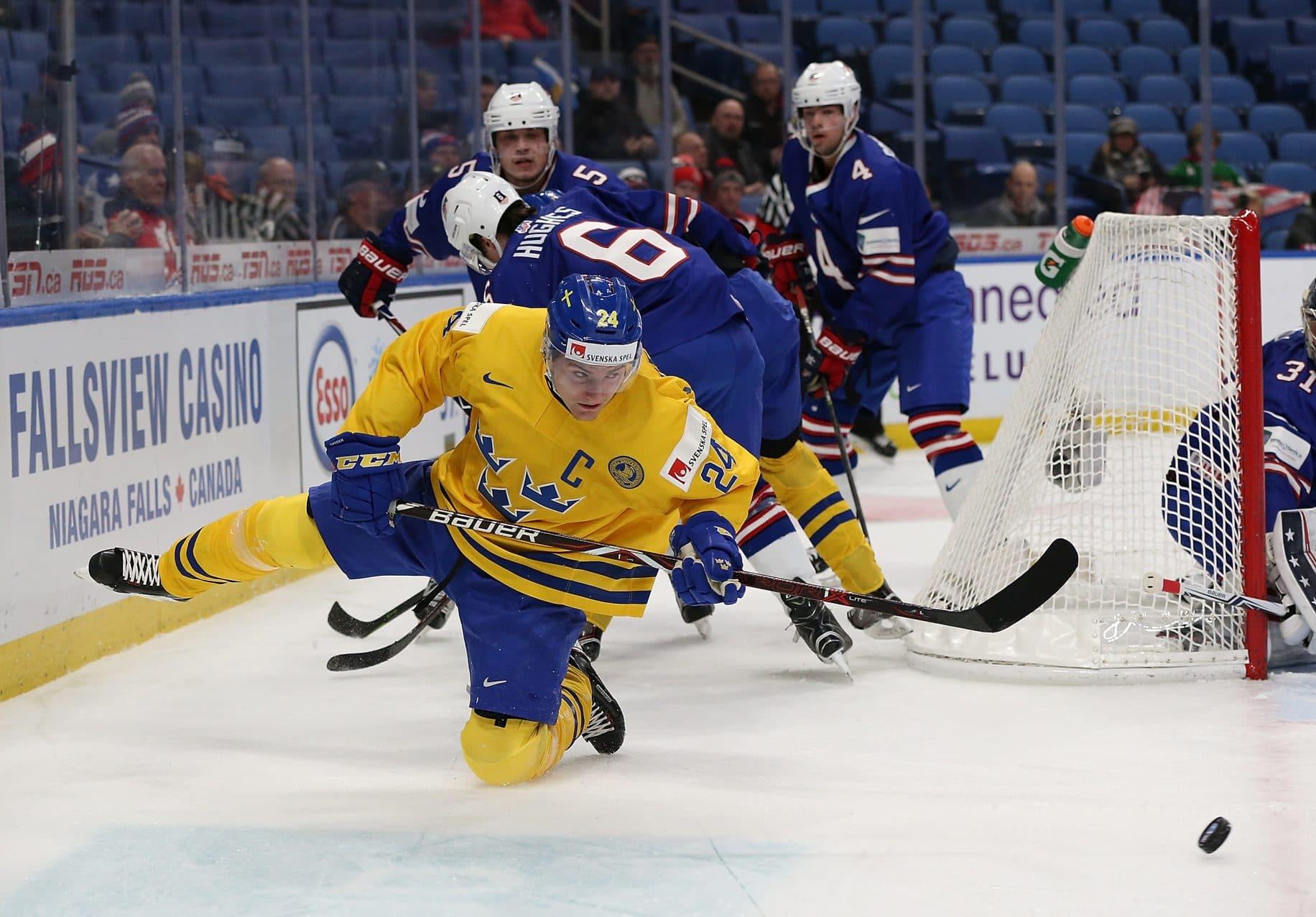 Lias Andersson in World Junior Championship