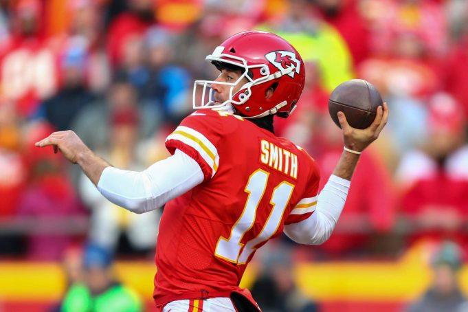 Alex Smith, Kansas City Chiefs, NFL