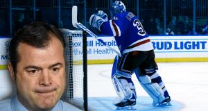 Alain Vigneault Henrik Lundqvist New York Rangers