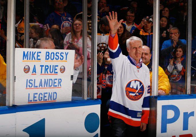 Mike Bossy, New York Islanders, Nassau Coliseum