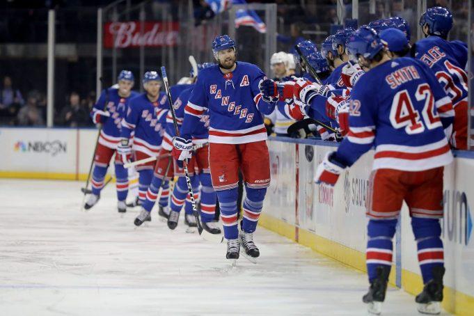 Rick Nash New York Rangers