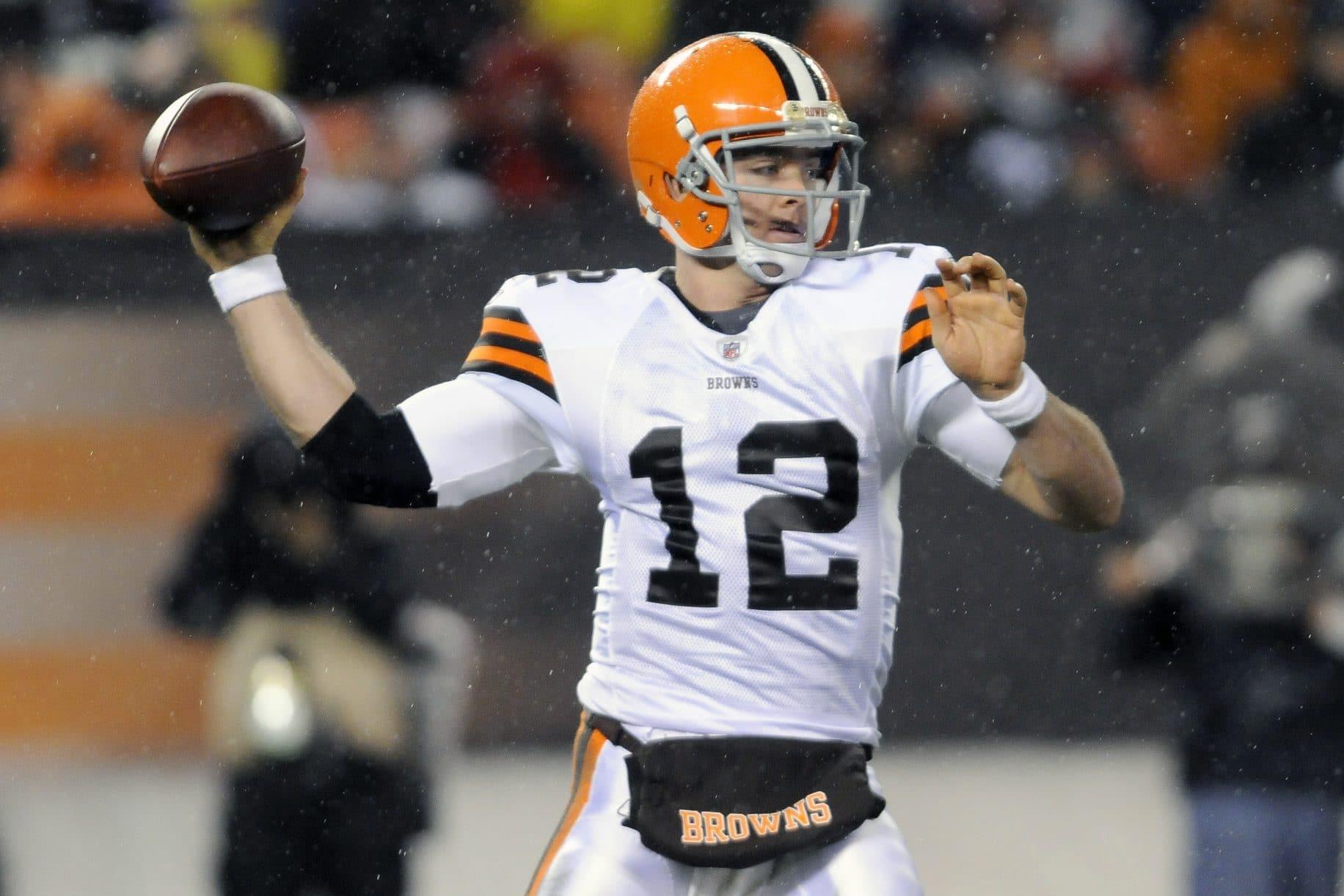 Colt McCoy, Cleveland Browns, NFL