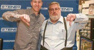 Todd Frazier, Gary Dunaier, Thumbs Down Guy