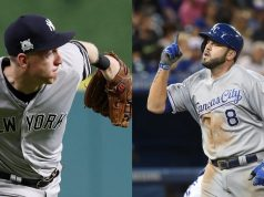 Todd Frazier Mike Moustakas New York Yankees