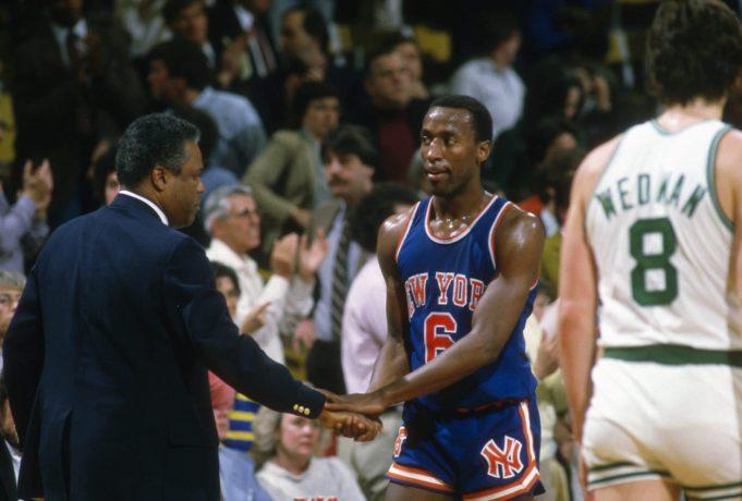 Trent Tucker New York Knicks