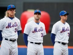 Noah Syndergaard, Matt Harvey, Steven Matz
