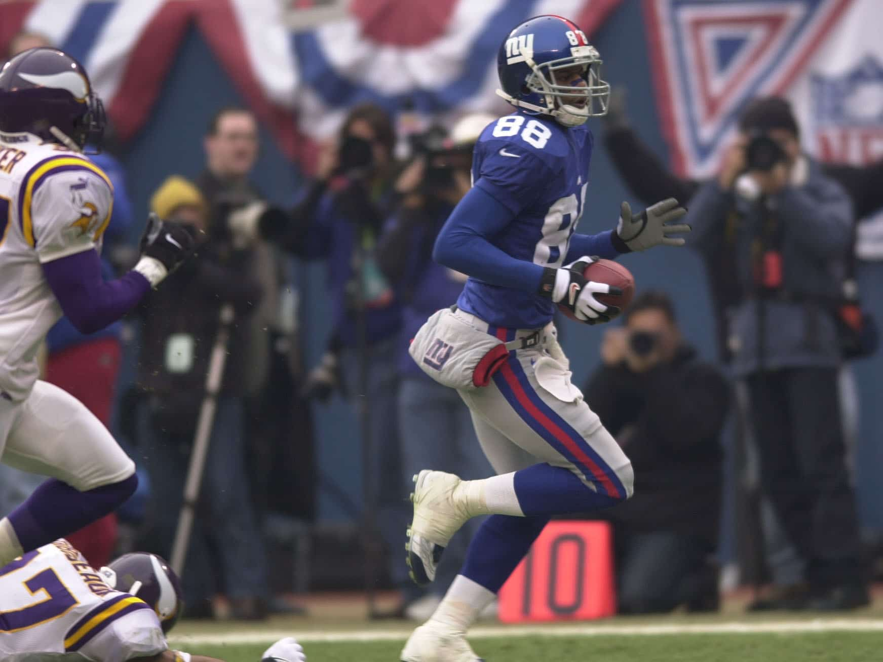 Ike Hilliard, New York Giants