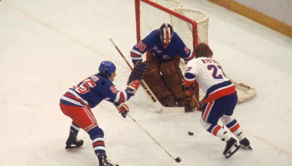 John Davidson New York Rangers Islanders