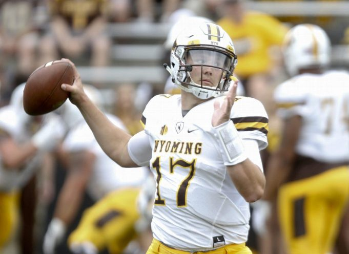 Josh Allen, Wyoming, College Football