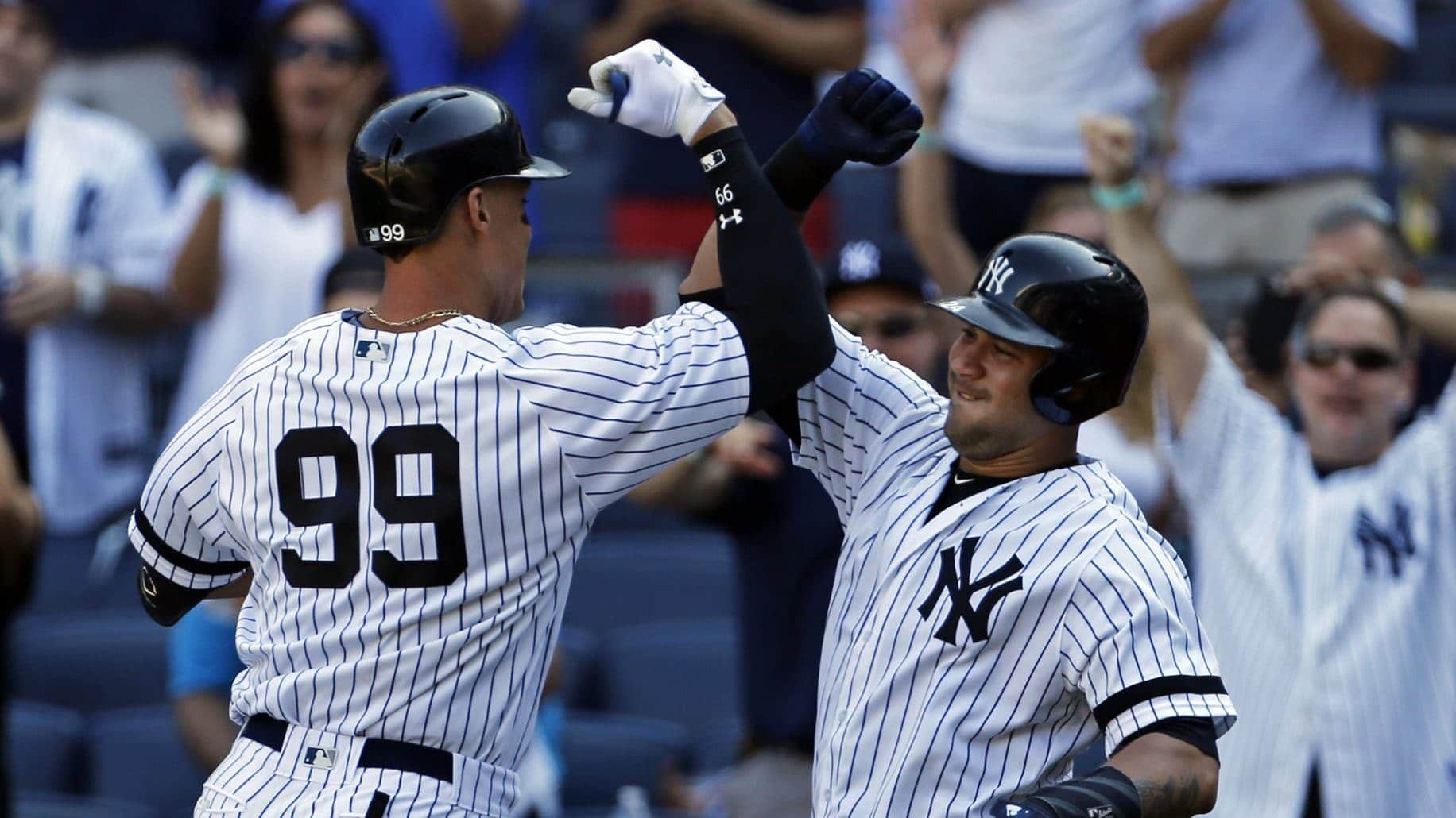 Aaron Judge, Gary Sanchez, New York Yankees