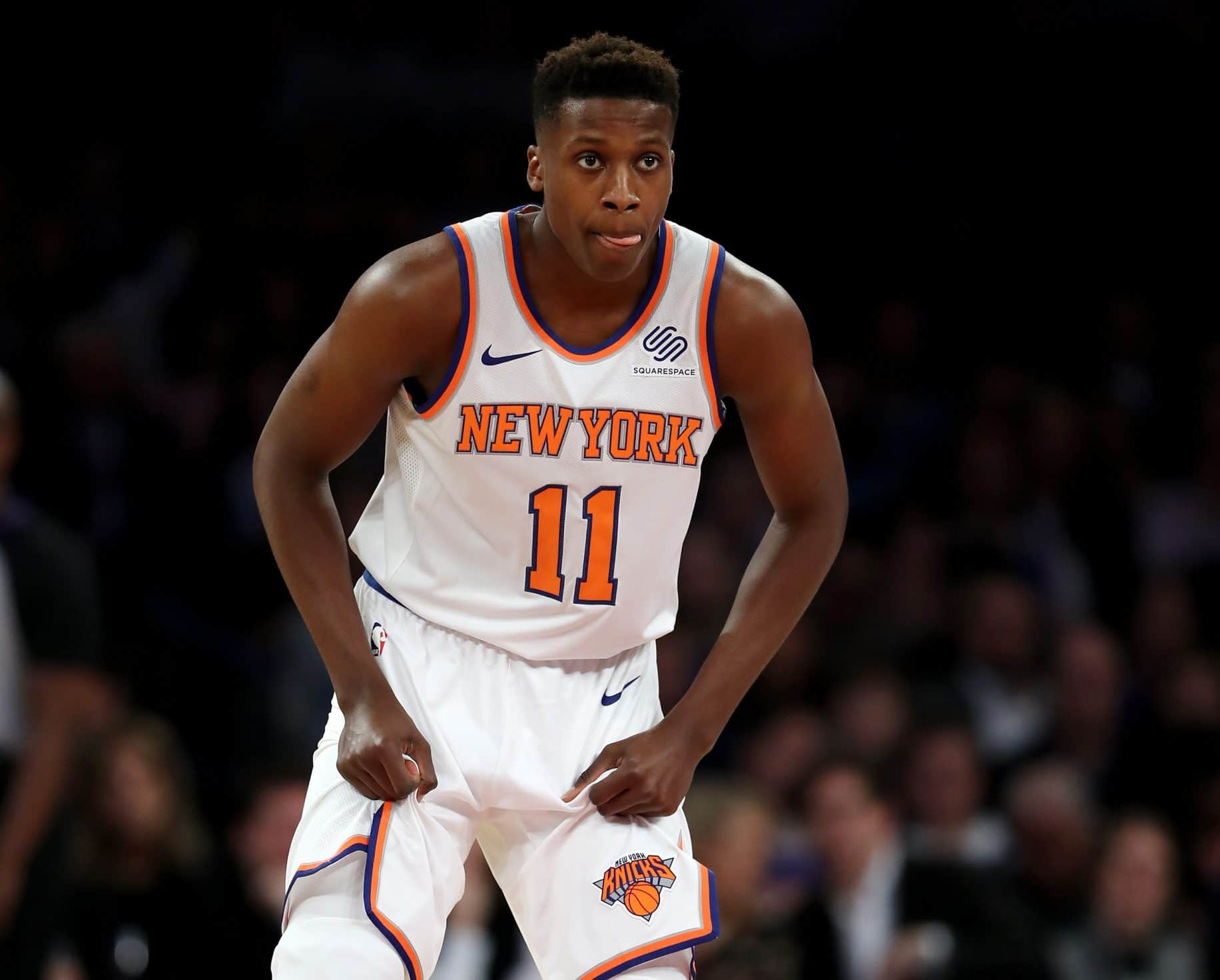 Frank Ntilikina vs. Dennis Smith Jr.: Picks paying off for ...