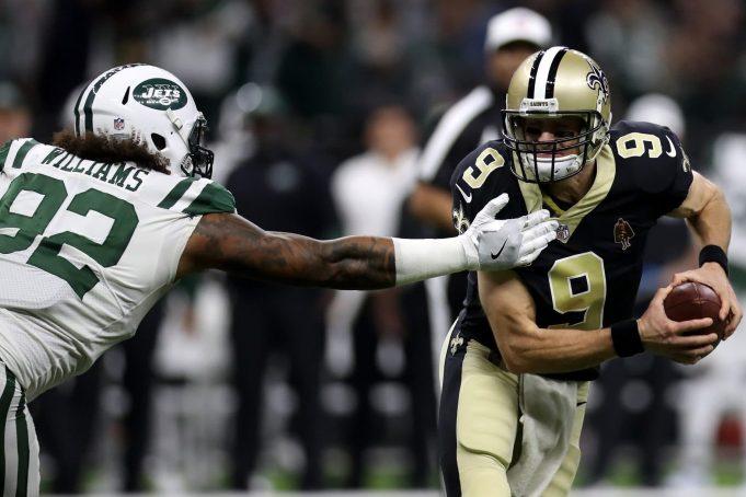 Drew Brees New Orleans Saints New York Jets
