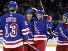 New York Rangers return to the ice