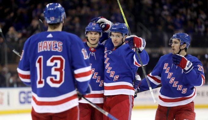 New York Rangers return to the ice
