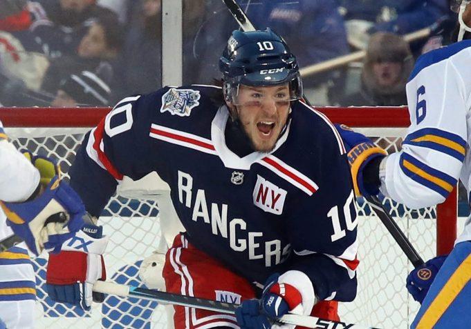 New York Rangers J.T. Miller has other big outdoor moments